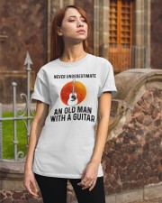 Guitar Nerver Underestimate Classic T-Shirt apparel-classic-tshirt-lifestyle-06