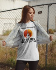 Guitar Nerver Underestimate Classic T-Shirt apparel-classic-tshirt-lifestyle-07