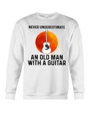 Guitar Nerver Underestimate Crewneck Sweatshirt tile