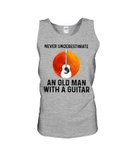 Guitar Nerver Underestimate Unisex Tank tile