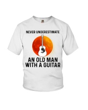 Guitar Nerver Underestimate Youth T-Shirt tile