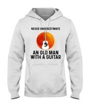 Guitar Nerver Underestimate Hooded Sweatshirt tile
