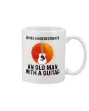 Guitar Nerver Underestimate Mug tile