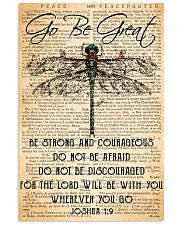 Hippie Go Be Great 11x17 Poster front