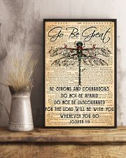 Hippie Go Be Great 11x17 Poster lifestyle-poster-3