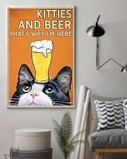 Cat Kitties And Bear 16x24 Poster lifestyle-poster-1