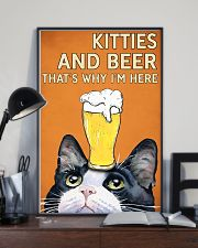 Cat Kitties And Bear 16x24 Poster lifestyle-poster-2