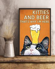 Cat Kitties And Bear 16x24 Poster lifestyle-poster-3