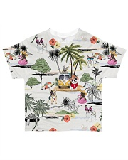 Dog French Bulldog Camping All-over T-Shirt front