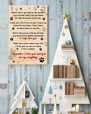 Dog Remember I Love You 11x17 Poster lifestyle-holiday-poster-2