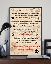 Dog Remember I Love You 11x17 Poster lifestyle-poster-2