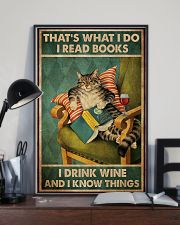 Cat I Drink Wine Poster 16x24 Poster lifestyle-poster-2