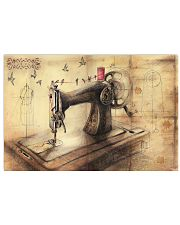 Vintage Sewing Machine Poster 17x11 Poster front