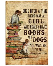 Books and Dogs Once Upon A Time 16x24 Poster front