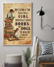 Books and Dogs Once Upon A Time 16x24 Poster lifestyle-poster-1