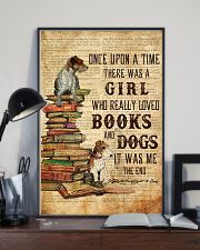 Books and Dogs Once Upon A Time 16x24 Poster lifestyle-poster-2