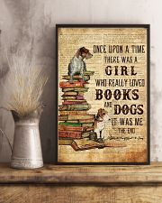 Books and Dogs Once Upon A Time 16x24 Poster lifestyle-poster-3