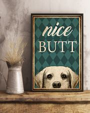 Labrador Nice Butt 11x17 Poster lifestyle-poster-3