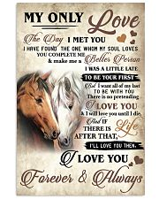 Horse The Day I Met You Poster 11x17 Poster front