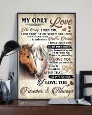 Horse The Day I Met You Poster 11x17 Poster lifestyle-poster-2