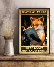 Books That's What I Do Fox 16x24 Poster lifestyle-poster-3