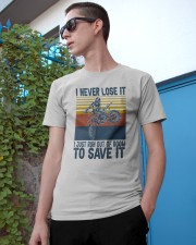 Dirt Bike Vintage 2 Classic T-Shirt apparel-classic-tshirt-lifestyle-17