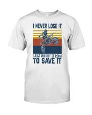 Dirt Bike Vintage 2 Classic T-Shirt front