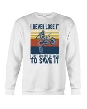 Dirt Bike Vintage 2 Crewneck Sweatshirt tile