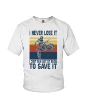 Dirt Bike Vintage 2 Youth T-Shirt tile