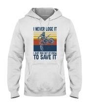 Dirt Bike Vintage 2 Hooded Sweatshirt tile