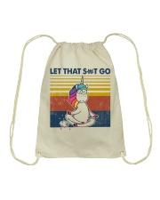 Let That Sht Go Drawstring Bag tile
