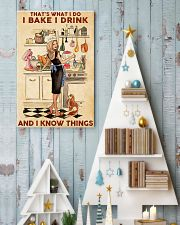 Baking That's What I Do I Bake I Drink Poster 11x17 Poster lifestyle-holiday-poster-2