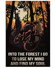 Cycling Into The Forest I Go 11x17 Poster front