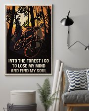 Cycling Into The Forest I Go 11x17 Poster lifestyle-poster-1