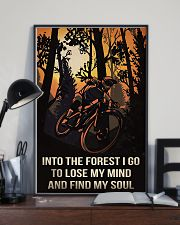 Cycling Into The Forest I Go 11x17 Poster lifestyle-poster-2