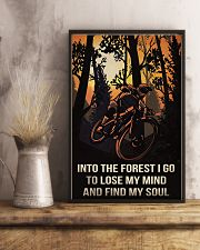 Cycling Into The Forest I Go 11x17 Poster lifestyle-poster-3