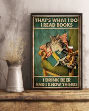 Cat I Drink Beer 16x24 Poster lifestyle-poster-3