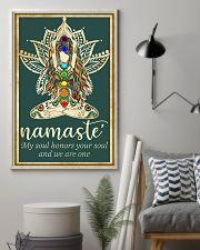 Yoga Namaste 11x17 Poster lifestyle-poster-1
