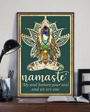 Yoga Namaste 11x17 Poster lifestyle-poster-2