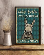 DONKEY SWEET CHEEKS 11x17 Poster lifestyle-poster-3