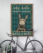 DONKEY SWEET CHEEKS 11x17 Poster lifestyle-poster-7