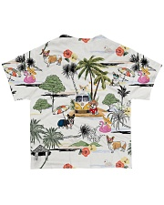 Dog Corgi Camping All-over T-Shirt back