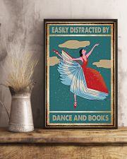 Book Easily Distracted By Dance and Books 16x24 Poster lifestyle-poster-3