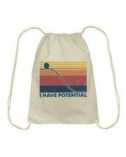 Science I Have Potential Drawstring Bag tile
