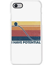 Science I Have Potential Phone Case tile