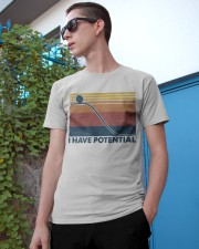 Science I Have Potential Classic T-Shirt apparel-classic-tshirt-lifestyle-17