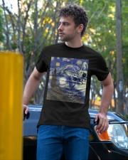 Cat Vangogh Classic T-Shirt apparel-classic-tshirt-lifestyle-front-44