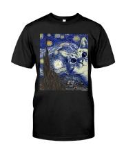 Cat Vangogh Classic T-Shirt front