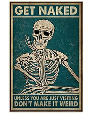 Skull You Are Just Visiting Poster 11x17 Poster front