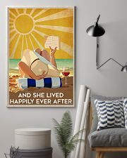 Beach And She Lived Happily Ever After Poster 16x24 Poster lifestyle-poster-1